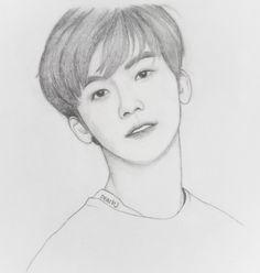 Kpop Drawings, Art Drawings Sketches Simple, Medical Wallpaper, Nct Dream Jaemin, Na Jaemin, Drawing Skills, Kpop Fanart, Manga Drawing, Aesthetic Art