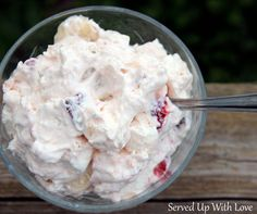 Served Up With Love: Strawberry Cheesecake Salad