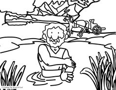 naamans servant girl coloring pages - photo#26