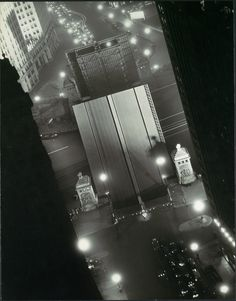 noir deco pulp at its finest     Gordon H. Coster     Chicago, Impression at Night 1932