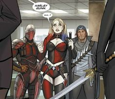 Suicide Squad Vs The League Of Assassins