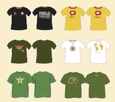 Piola t-shirts for every occasion...