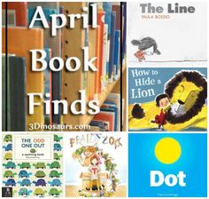 April 2014 Book Finds: Zoo, animals, What is different, wordless book.