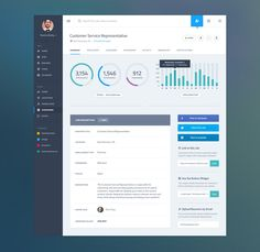 #UI #Design: Analytics #dashboard