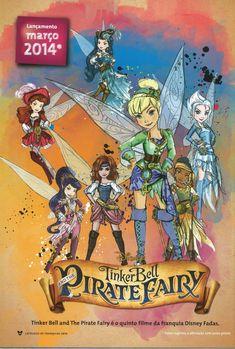 The Pirate Fairy Zarina HD Desktop Wallpaper High Definition