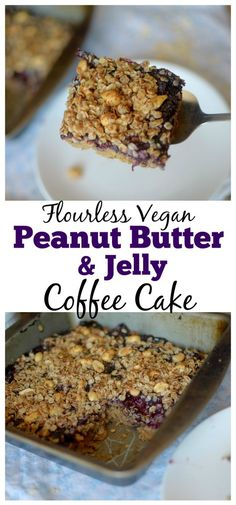 ... peanut butter and jelly coffee cake4 peanut butter crumble coffee cake