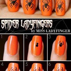 2-step-by-step-halloween-nail-art-tutorials