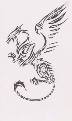 griffin tattoo design - Google Search