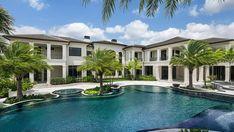 Florida Mansion, Beach Mansion, Florida Home, South Florida, Grand Foyer, Grand Staircase, Wynn Las Vegas, Stone Creek, Outdoor Pavilion