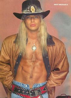 Hello Bret! ♥ Bret Michaels Poison, Bret Michaels Band, Glam Rock Bands, Rock And Roll Bands, Hard Rock, Big Hair Bands, Glam Metal, Music Pics, Heavy Metal Bands