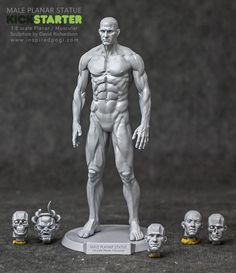 The Male Planar Statue by David Richardson » Master Print is here!! — Kickstarter