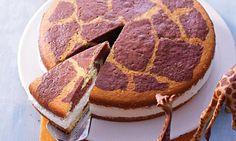 Eine Torte für Kinder mit einer Buttermilchfüllung
