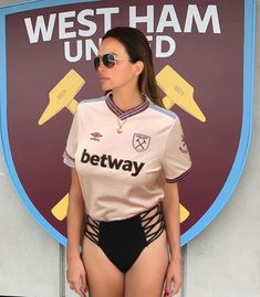 English Football Teams, West Ham Fans, West Ham United Fc, Just For Fun, Wetsuit, The Unit, Singer, Crop Tops, Instagram Hashtag