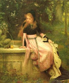 "William Robert Symonds (1851-1934), ""The princess and the frog"""