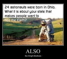 Living in Ohio can make you feel that way! Funny Shit, Haha Funny, Funny Stuff, Funny Things, Random Things, Random Stuff, Random Humor, Random Facts, Hilarious Memes