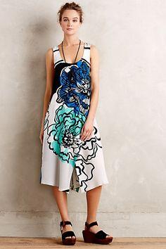 Garden District Silk Dress #anthropologie
