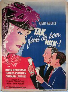 Tak fordi du kom Nick (1941)