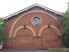 Castlemaine Railway Station goods shed