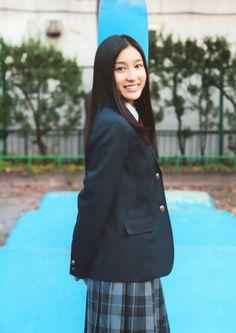 土屋太鳳tao_tsuchiya Japanese School Uniform, School Uniform Girls, School Uniforms, Asian Girl, Actresses, Beautiful, Fashion, Asia Girl, Female Actresses