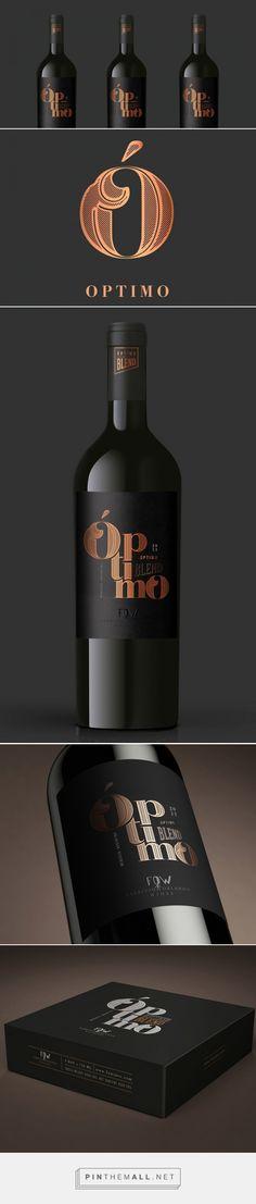 Óptimo — The Dieline - Branding & Packaging - created via http://pinthemall.net