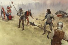 Killed in the Battle of Bosworth Field August 22, 1485 (Logan lx).