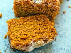 Did you know Silk® has a ton of tasty recipes, like this one for Cinnamon Sugar Pumpkin Bread. -- okay, I need almond milk now Moist Pumpkin Bread, Sugar Pumpkin, Dairy Free Recipes, Sweet Bread, Pumpkin Recipes, Plant Based Recipes, Dessert Recipes, Food And Drink, Yummy Food