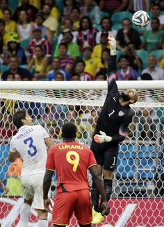 Relive Tim Howard's heroic #WorldCup performance in pictures (Photo: Felipe Dana / AP)