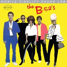 The B-52's - The B-52's on Numbered Limited Edition LP from Mobile Fidelity Silver Label