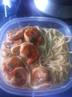 Creamy Jerk Shrimp Pasta