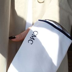 Personalised details for @carinmccormacMonogram your ANNA QUAN shirt online now