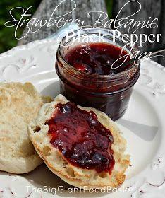 The Big Giant Food Basket: Strawberry Balsamic & Cracked Black Pepper Jam