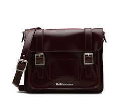 e3bcde42a0 Our traditional 11 satchel boasts an over-sized closure flap, classic  buckle fasteners for