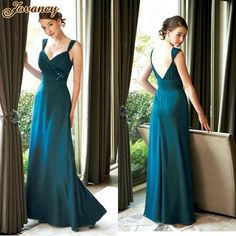 Cheap dress quality, Buy Quality dress up winter fashion directly from China dress swimsuit Suppliers: Generous Spaghetti Strap Party Dress Chiffon Long Teal Bridesmaid Dresses 2015