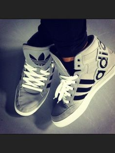 shoes addidas trainers / Nike ones are nice too. I like black, grey or both combined! Size 8