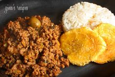 Cuban Picadillo - A main course with tostones and rice or use as a filling for empanadas, etc.