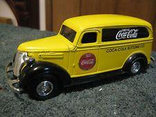 """ Coca Cola "" 50th Anniv. 1936 Chevrolet Panel Truck Bank,1:25,By Ertl, Rare"