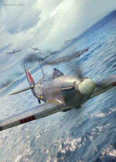 ArtStation - Battle of Britain Combat Archive Vol. 3 - August East, Piotr Forkasiewicz A few varied photos that I like Ww2 Aircraft, Fighter Aircraft, Military Aircraft, Air Fighter, Fighter Jets, Aircraft Painting, Airplane Art, Ww2 Planes, Battle Of Britain