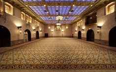 The birthplace of the Academy Awards in 1929, the Blossom Room at the Hollywood Roosevelt in Los Angeles