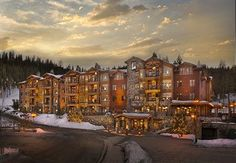 For traditional rooms complete with fireplaces and deep soaking bathtubs, make yourself at home at the Northstar Lodge, A Welk Resort