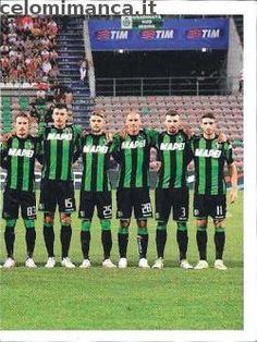 Calciatori 2015-2016: Fronte Figurina n. 502 Squadra/2 Sassuolo