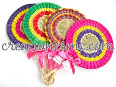 Abanico regional circular, www.creacionesmc.com