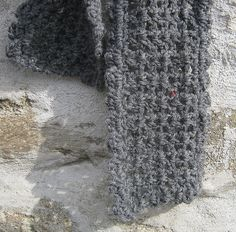 "This is a side-to-side V stitch scarf, trimmed with a very easy shell border. It's very quick to make & comes in three lengths, or you can easily adapt the length if you'd like to make the perfect scarf! This scarf matches the rest of my ""So Easy It's Sinful"" series."