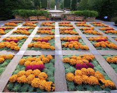 NC Arboretum fall Quilt Garden - Butterflies