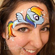 Amanda's Elaborate Eyes- Rainbow Dash