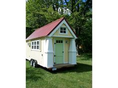 Tiny House Craftsman Cottage on Wheels