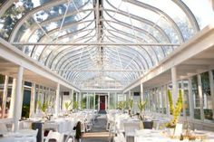 Gardens of Bammel Lane, Houston, TX  conservatory interior---great place for a white wedding