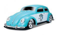 Volkswagen 1951 Beetle Car Remote Control-Blue & White
