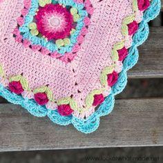 Crochet Lydia Blanket - free pattern