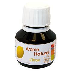Arôme naturel au citron 50 ml | Alice Délice