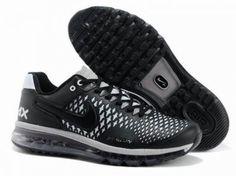 Nike Air Max 90 Junior Noir Et Bleu Noir 38œ
